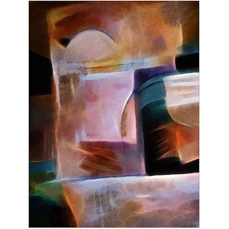 Trademark Art  Shimmery  Canvas Art By Adam Kadmos