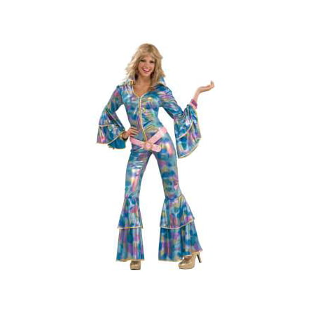 '70s disco mama adult halloween costume M/L - 70's Womens Halloween Costume