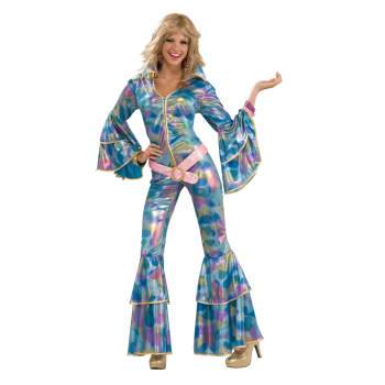'70s disco mama adult halloween costume M/L](1970s Disco Costume)