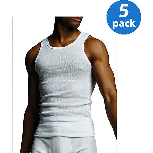 Gildan Men's A shirt 5 Pack - Walmart.com