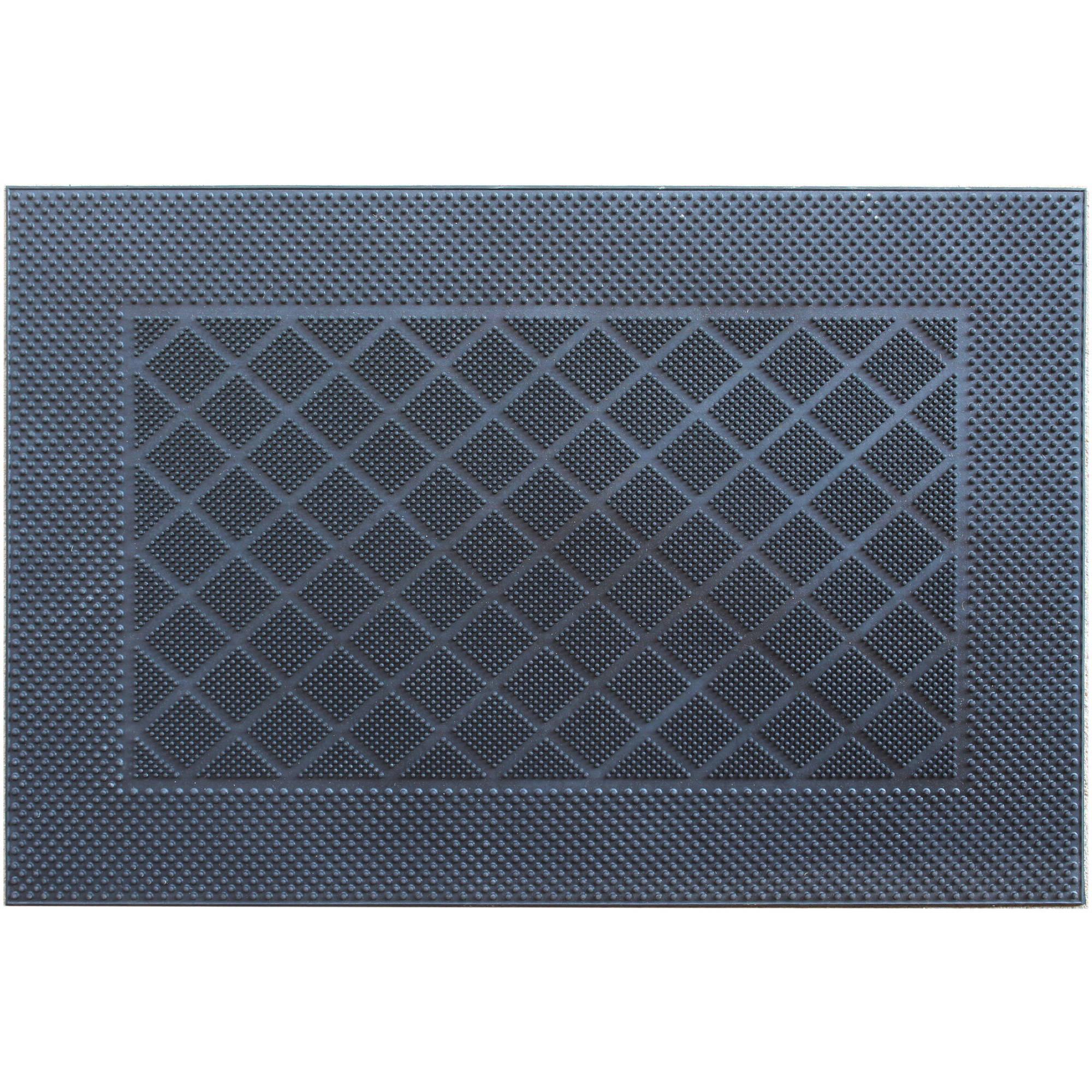 Mainstays Doormat Rubber Walmart Com