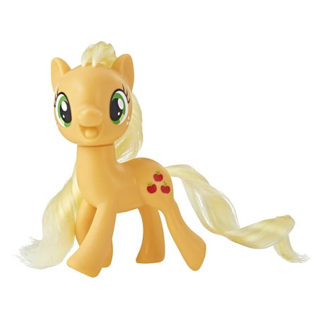 My Little Pony Mane Pony Applejack Classic Figure, Ages 3 and (My Little Pony Ponyville Sweet Sundae Amusement Park)