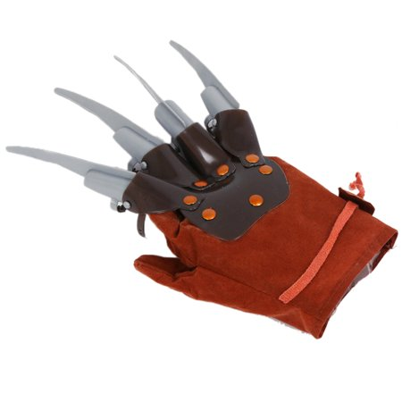 1pc Licensed Freddy Kruger Costume Gloves Halloween Costumes Masquerade Party Scary Toy Supplies Decor Accessory - image 2 de 6