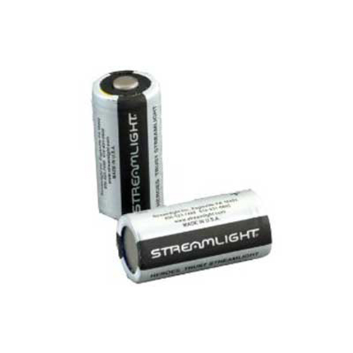 Streamlight CR123A 3 Volt Non Rechargeable 85180 Lithium Cells Pack of 6 by Streamlight