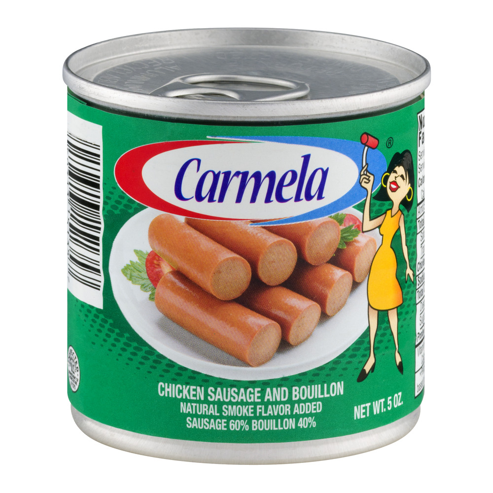 Carmela Chicken Sausage And Bouillon, 5.0 OZ by Century Packing Corp.
