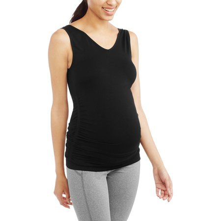 Labor of Love Maternity Reversible Scoop to V-Neck Seamless Tank - Available in Plus Sizes