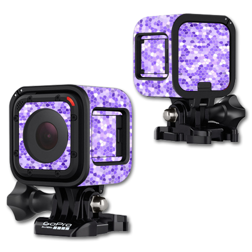 MightySkins Protective Vinyl Skin Decal Cover for GoPro Hero4 Session Camera Digital Camcorder Sticker Skins Stained Glass