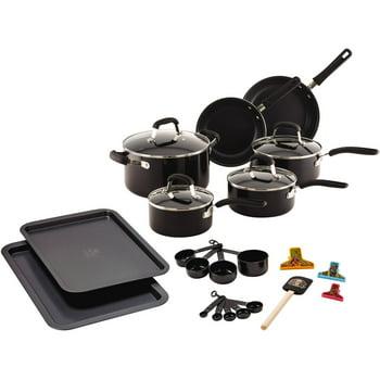 Guy Fieri 25-Piece Nonstick Aluminum Cookware Set