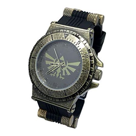 Legend Of Triforce Rubber Strap Watch