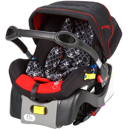 the first years via infant car seat disney minnie multi colored. Black Bedroom Furniture Sets. Home Design Ideas