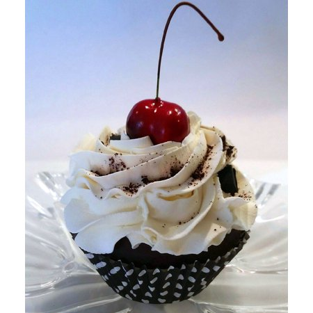 Cookies & Cream Cupcake Faux Cupcake- Fake Food Decoration Dezicakes