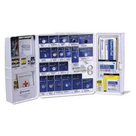 FIRST AID ONLY 54770 First Aid Kit,4-1/8inWx4-1/8inDx14inH G3111267
