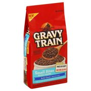 Gravy Train Small Bites Beefy Classic Dry Dog Food, 3.5 Lb. Bag