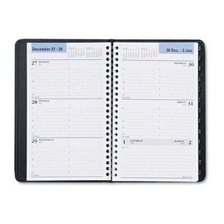at a glance g21000 weekly appointment book w tabbed tel address