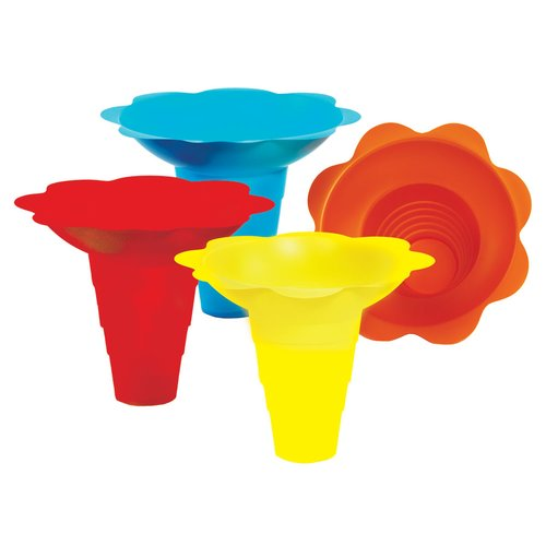 Paragon International Flower Sno Cone Drip Cup (Set of 100)