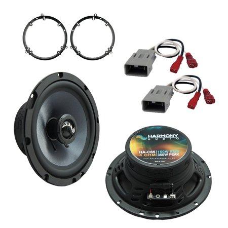 Fits Honda Accord 1998-2002 Front Door Replacement Harmony HA-C65 Premium Speaker New Honda Fit Speakers