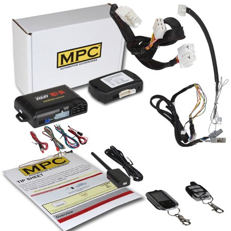 Complete 2-Way LCD Remote Start Kit For 2012-2015 Honda Civic -