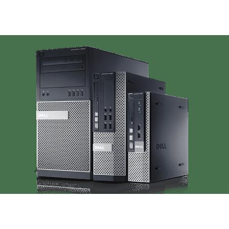 Refurbished Dell OptiPlex 9020 MT Intel Core i7-4790 3.6Ghz 8GB RAM 1TB HDD Windows 10 Pro Desktop Computer PC