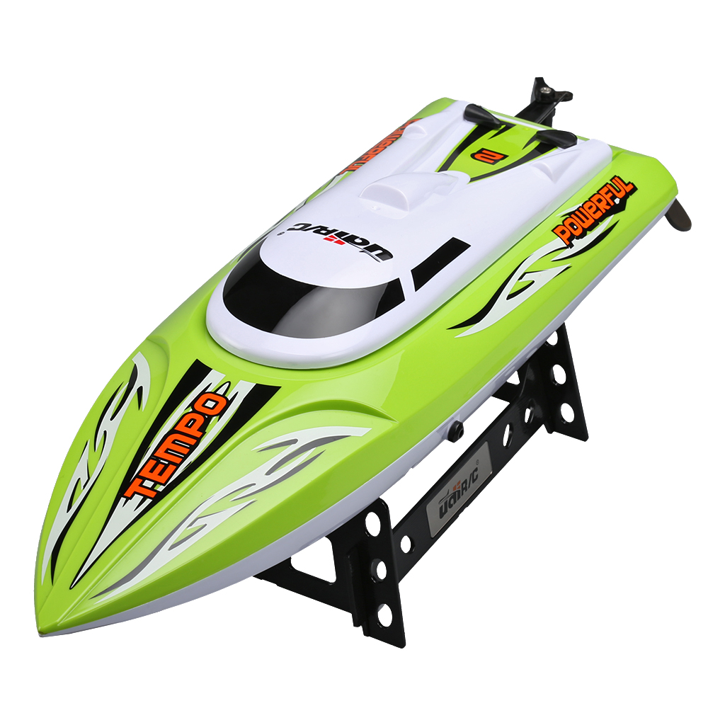 Udirc UDI002 2.4GHz High Speed Big RC Racing Boat, Green by Udi