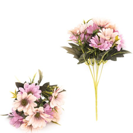 Gran Bouquet - Artificial Daisy Fake Flower Bouquet For Home Office Bedroom Livingroom Floral Decor