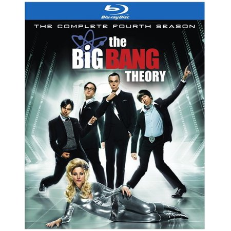 The Big Bang Theory  The Complete Fourth Season  Blu Ray