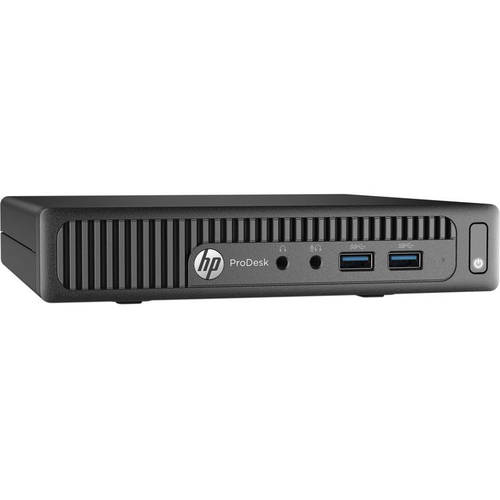 Hp Pro Desk 400 G2 P6r 64ut Desktop Pc With Intel Core I 5 - 6500t Processor, 4gb Memory, 128gb Solid State Drive And Free Dos