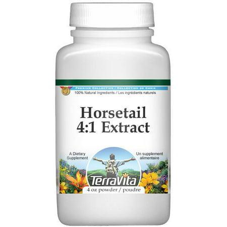 Extra Strength Prêle (Shavegrass silice) 4- 1 extrait de poudre (4 oz ZIN- 514200)