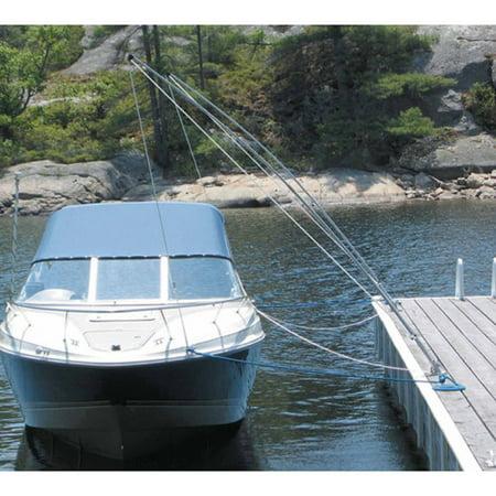 Dock Edge Dock-Side Premium Mooring Whips, (Premium Mooring Whip)