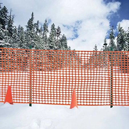 - V Protek Safety Fence, Snow Fencing, Deer Netting, 39