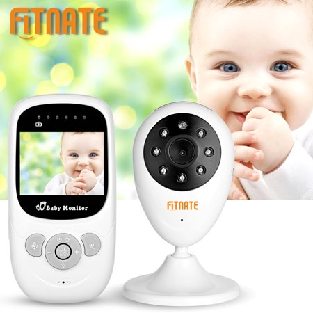 Fitnate 2 4 Lcd Video Baby Monitor Camera Night Vision Audio