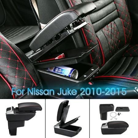 Auto armrest console box Car Handrails Central armrest for nissan juke