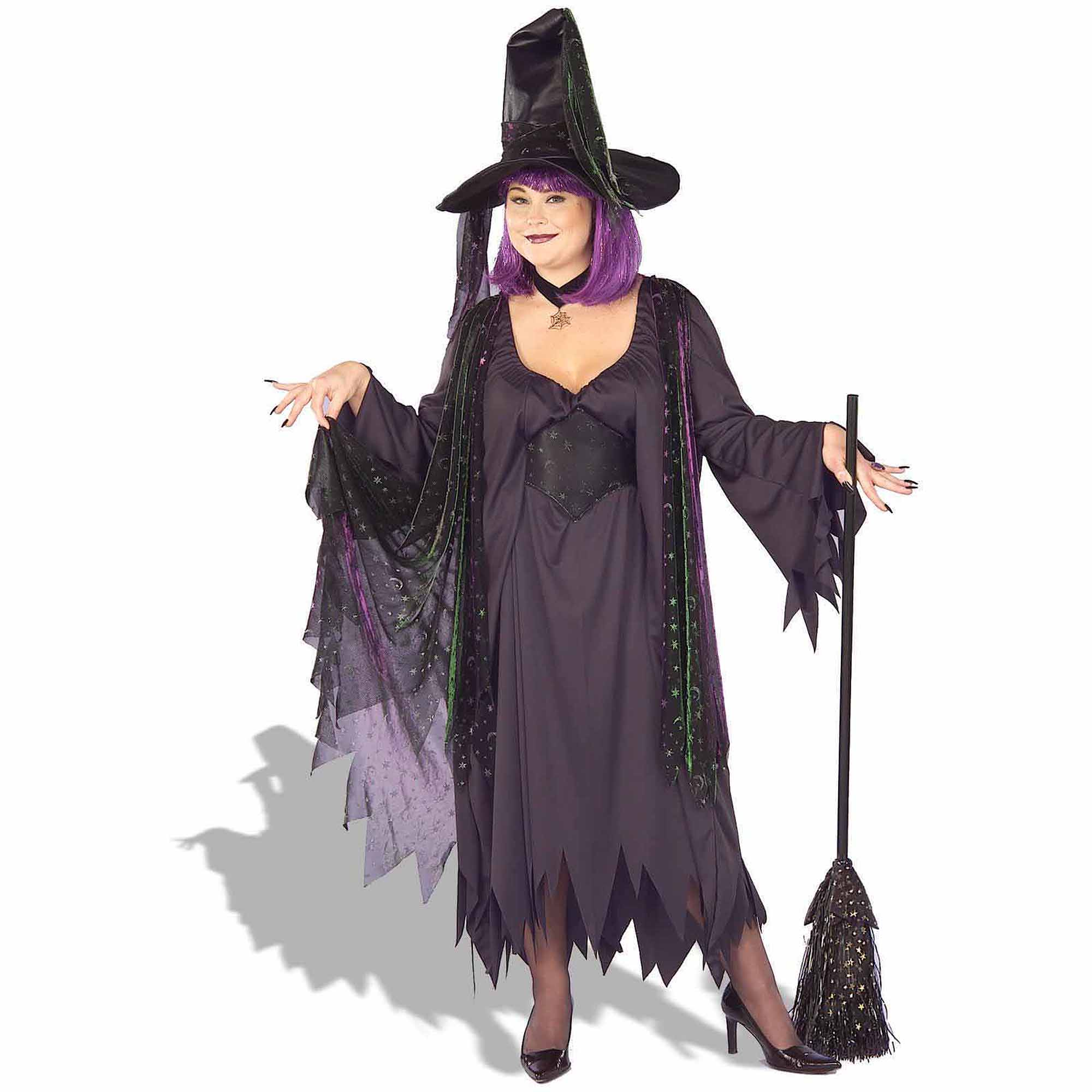 Mystic Witch Plus Costume Women's Adult Halloween Costume