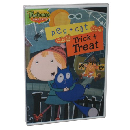 Halloween Trick Or Treat Dvd (Treehouse Peg + Cat Trick or Treat Children Kids)