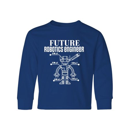 ed6ebd87 Inktastic - Future Robotics Engineer Robot Youth Long Sleeve T-Shirt -  Walmart.com