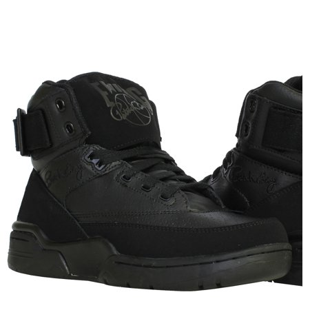 df246fb7fc2 Ewing Athletics Ewing 33 Hi Triple Black Men's Basketball Shoes 1EW90143-001