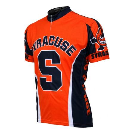 finest selection c8ea4 cd8bd Adrenaline Promotions Syracuse University Orange Cycling Jersey
