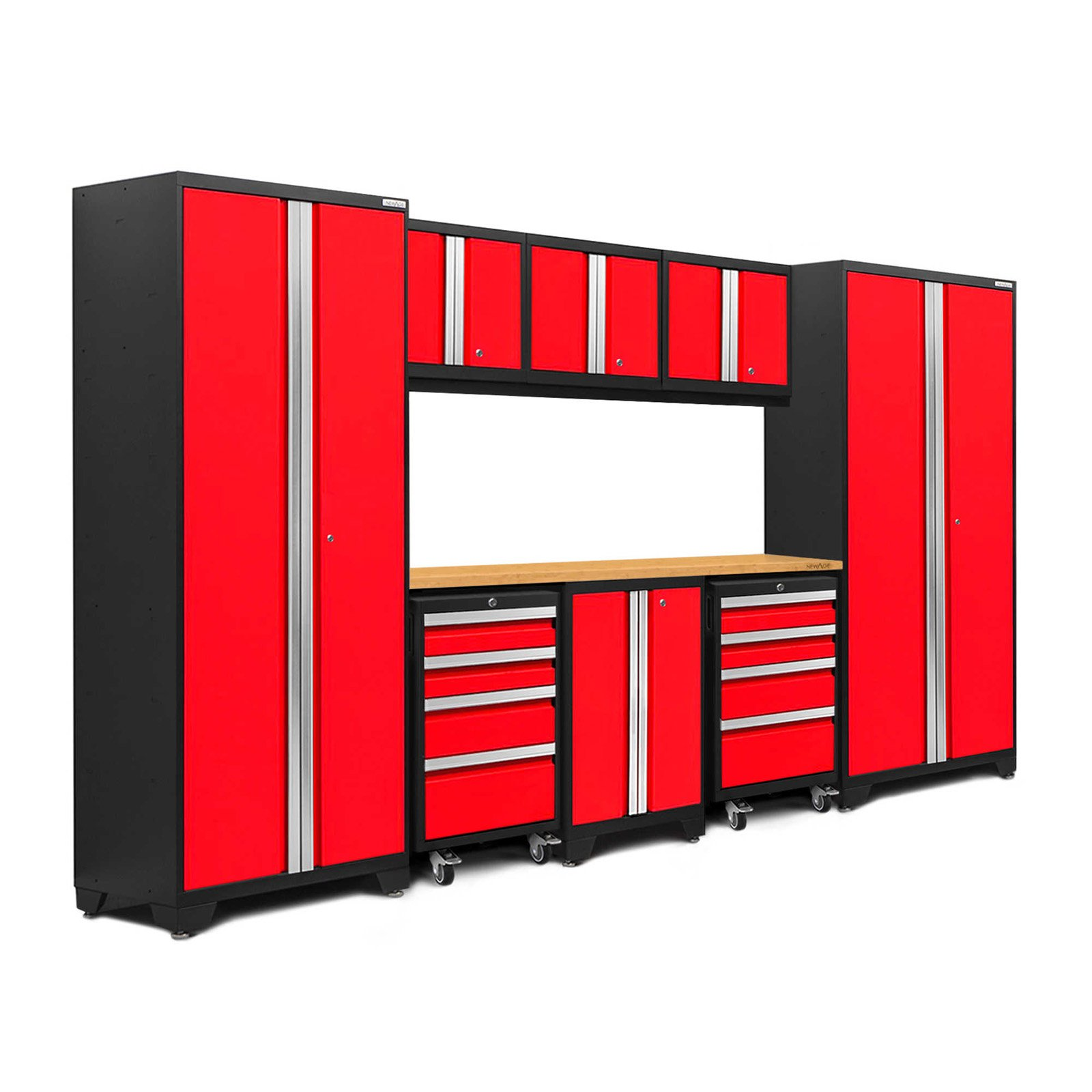 NewAge Products Bold 3.0 9 Piece Garage Cabinet System I