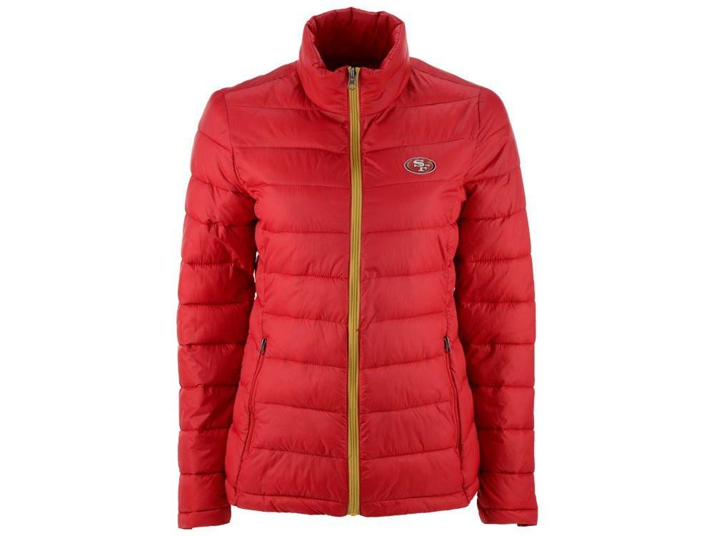 San Francisco 49ers Womens Packable Polyfill Jacket by G-III Sports