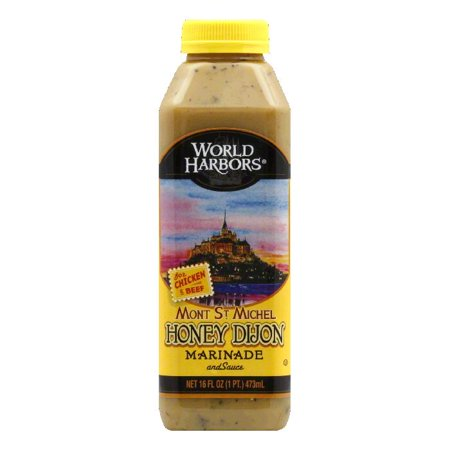 French Hollandaise Sauce - World Harbors French Style Honey Djon Sauce, 16 OZ (Pack of 6)