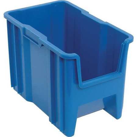 Quantum Storage Systems 100 lb Capacity, Bin, Blue QGH600BL by Quantum Storage Systems