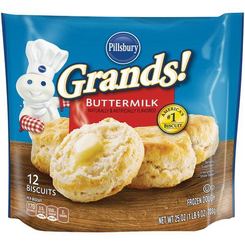 Pillsbury Grands!? Buttermilk Biscuits 12 ct Bag