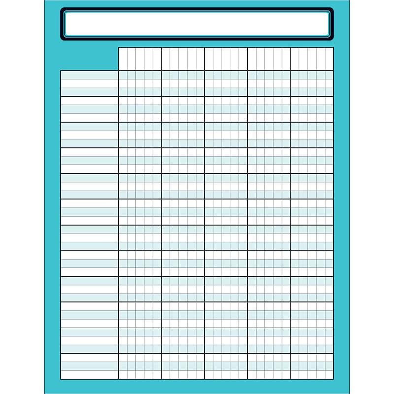 Scholastic Teaching Resources SC-823641 Aqua Oasis Incentive Chart