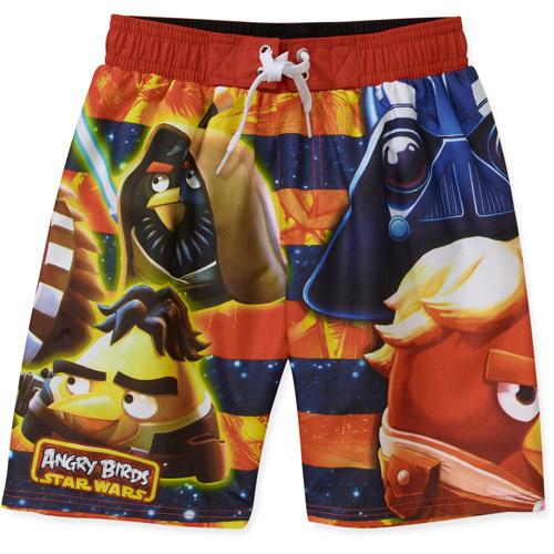 Rovio Boys' Angry Bird Star Wars Stripe Swim Shorts