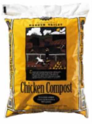 1 CUFT Garden Valley Chicken Compost 2PK by