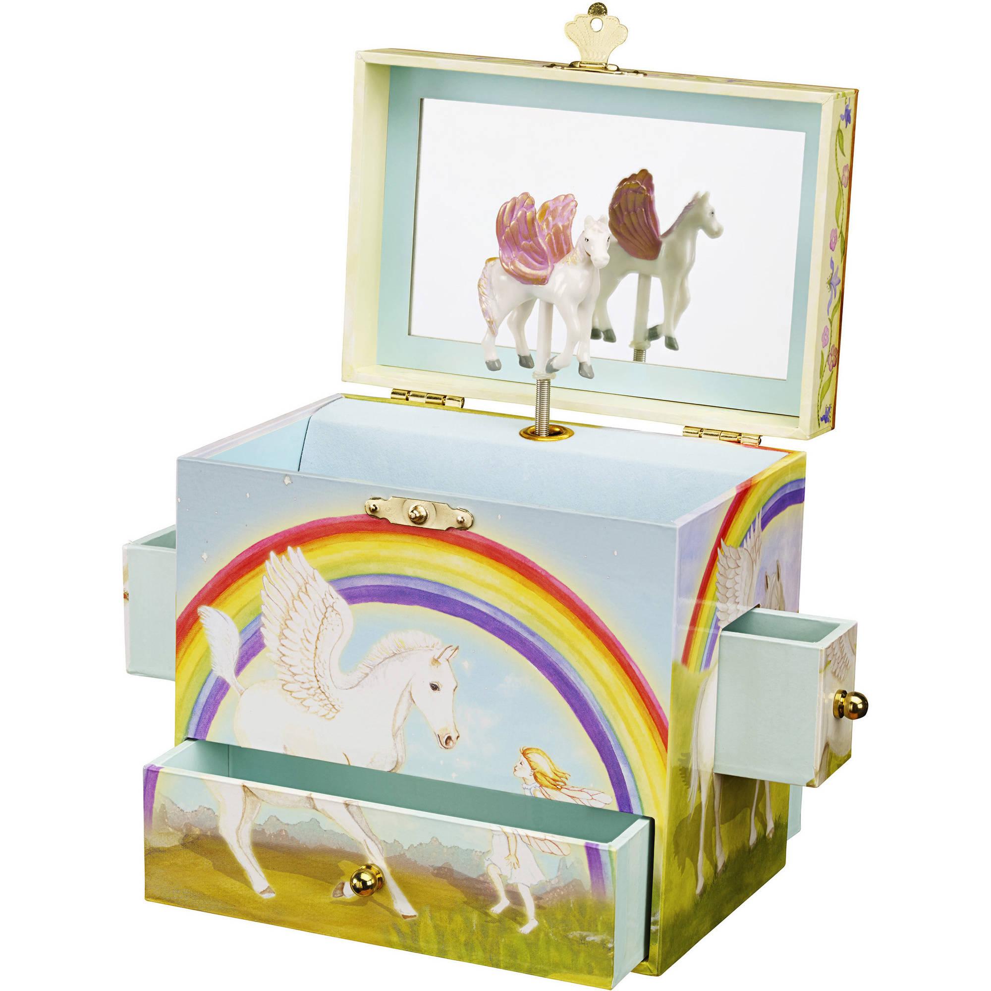 Enchantmints Pegasus Musical Jewlery Box