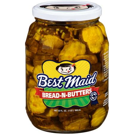 (2 Pack) Best Maid Bread-N-Butters Pickles 32 fl. oz.