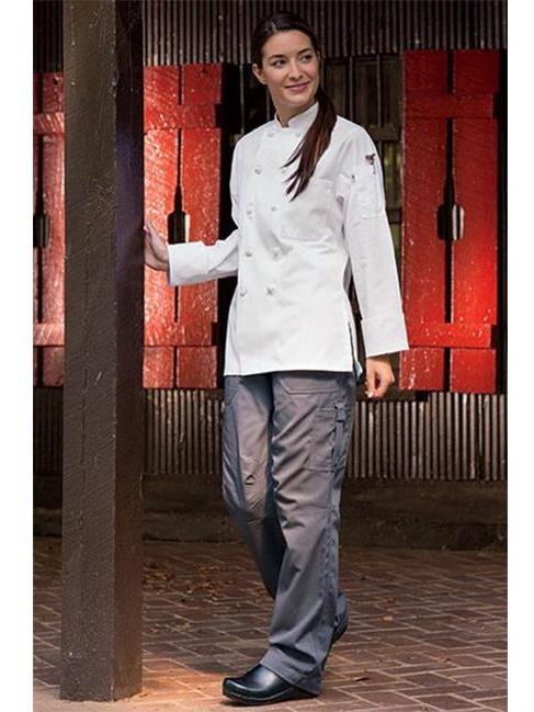 Uncommon Threads Womens Grunge Cargo Chef Pant