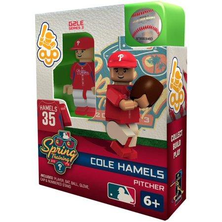 MLB Generation 2 Series 3 Cole Hamels Minifigure [Spring Training]