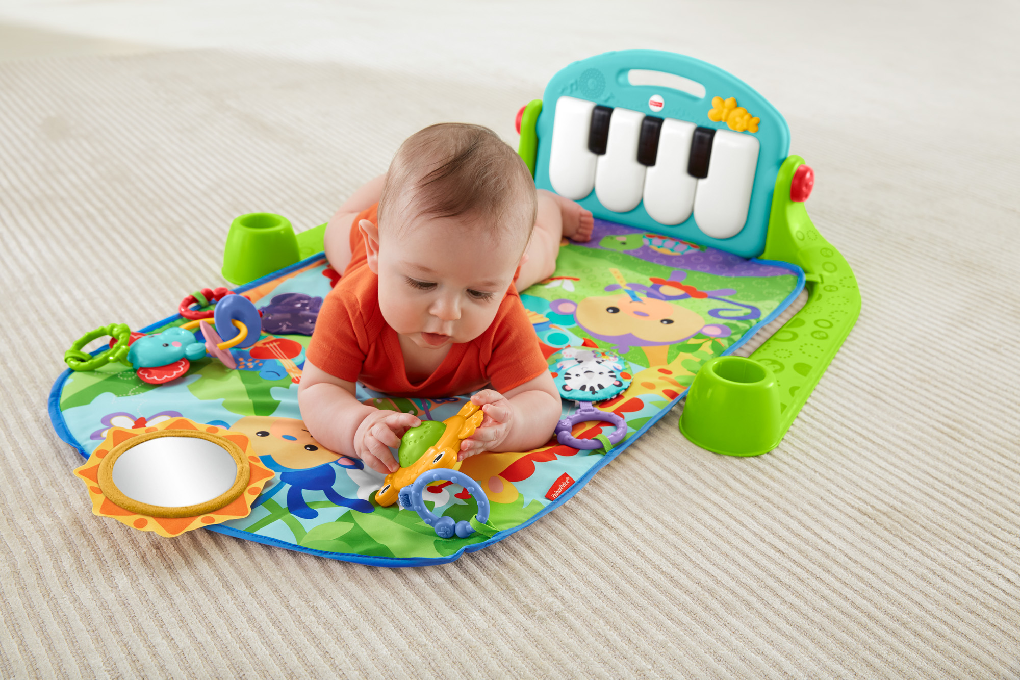 baby playing on a mat play com yourbabyblog kid floor foam floors care gym