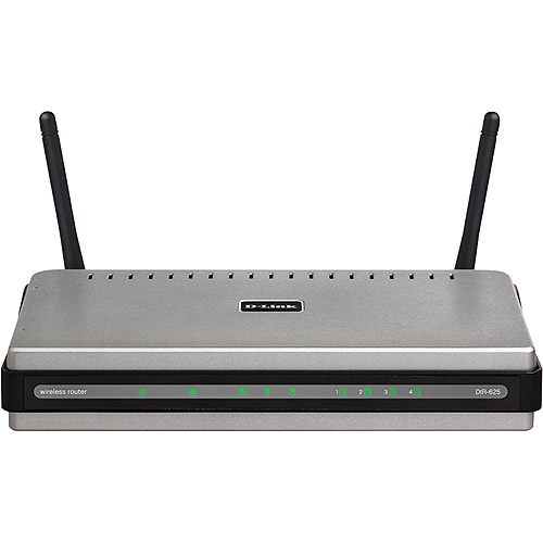 D-LINK 4-Port RangeBooster Wireless-N Router
